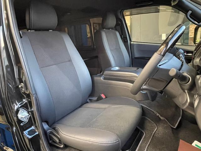 スーパーGL ダークプライムII 4WD6型 禁煙車 TRDフロント/サイドリアスポイラー 1.5インチローダウン デジタルインナーミラー プリクラッシュセーフティ レーンディパーチャーアラート オートマチックハイビーム 100V電源(13枚目)