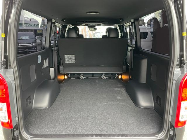スーパーGL ダークプライムII 4WD6型 禁煙車 TRDフロント/サイドリアスポイラー 1.5インチローダウン デジタルインナーミラー プリクラッシュセーフティ レーンディパーチャーアラート オートマチックハイビーム 100V電源(20枚目)