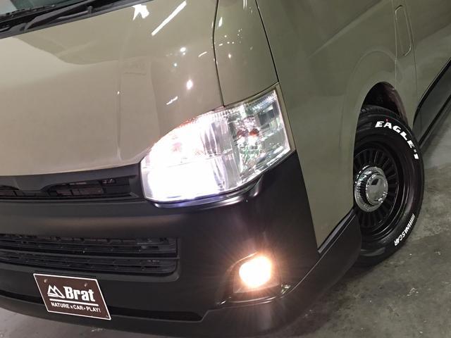 ロングスーパーGL 4WD ディーゼル NEWペイント/エメラルドグレーメタリック DEANカリフォルニア新品ホイール グッドイヤーイーグル#1ナスカー新品タイヤ セミグロスブラックアウト 後席ダークプライム専用シート(25枚目)