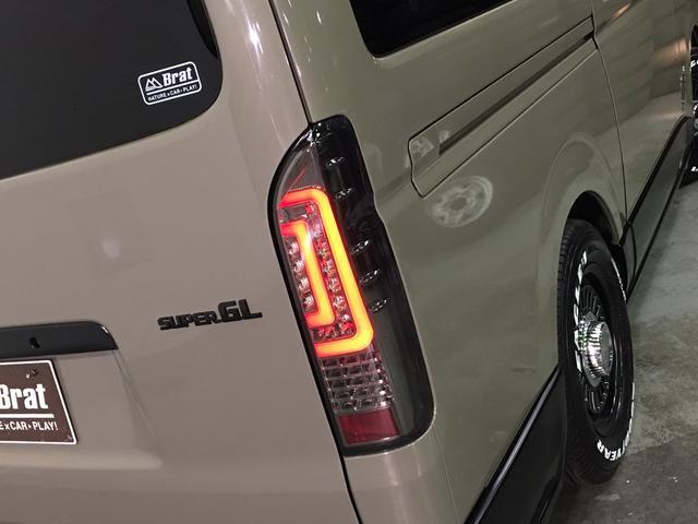 ロングスーパーGL 4WD ディーゼル NEWペイント/エメラルドグレーメタリック DEANカリフォルニア新品ホイール グッドイヤーイーグル#1ナスカー新品タイヤ セミグロスブラックアウト 後席ダークプライム専用シート(34枚目)