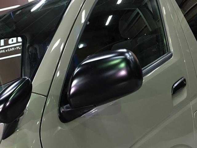 ロングスーパーGL 4WD ディーゼル NEWペイント/エメラルドグレーメタリック DEANカリフォルニア新品ホイール グッドイヤーイーグル#1ナスカー新品タイヤ セミグロスブラックアウト 後席ダークプライム専用シート(43枚目)