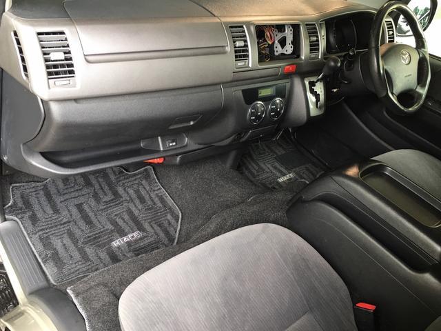 ロングスーパーGL 4WD ディーゼル NEWペイント/エメラルドグレーメタリック DEANカリフォルニア新品ホイール グッドイヤーイーグル#1ナスカー新品タイヤ セミグロスブラックアウト 後席ダークプライム専用シート(49枚目)