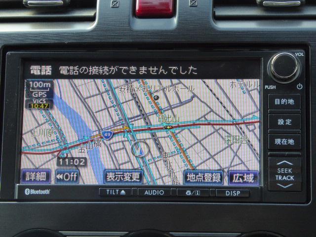 スバル インプレッサスポーツ 2.0i-Sアイサイト 4WD アイサイト純正HDDナビ