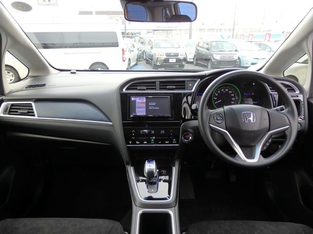 ハイブリッド 4WD 社外SDナビ 衝突軽減ブレーキ 横滑り防止 バックカメラ ETC(3枚目)