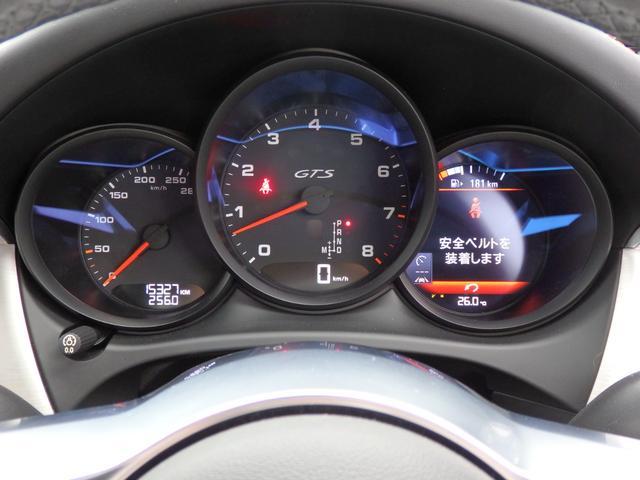 マカンGTS 4WD 純正HDDナビ HID 衝突軽減ブレーキ レザーシート 純正20AW サンルーフ パドルシフト ETC(27枚目)