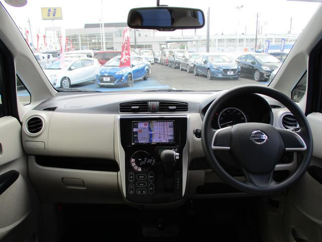 X 4WD 社外SDナビ プッシュスタート シートヒーター 社外15AW アイドリングストップ ETC(3枚目)