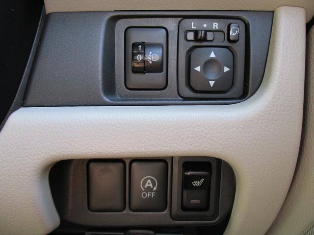 X 4WD 社外SDナビ プッシュスタート シートヒーター 社外15AW アイドリングストップ ETC(29枚目)