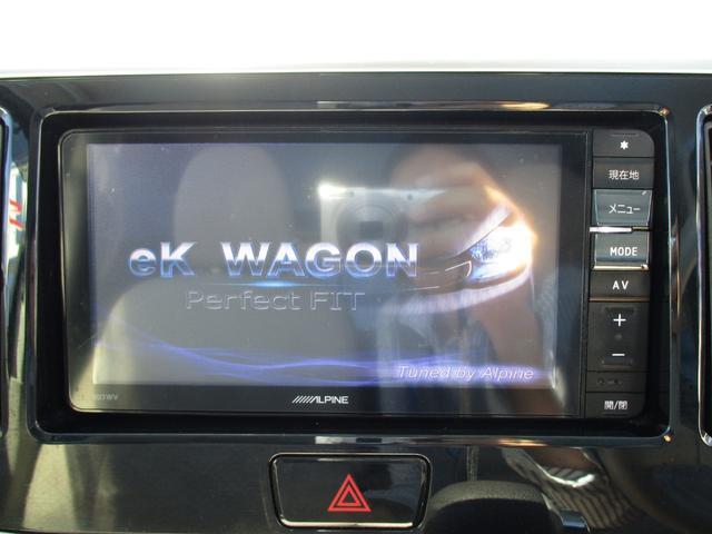 T セーフティパッケージ 4WD ワンオーナー車 社外SDナビ 衝突軽減ブレーキ 左側パワースライドドア シートヒーター ETC(6枚目)