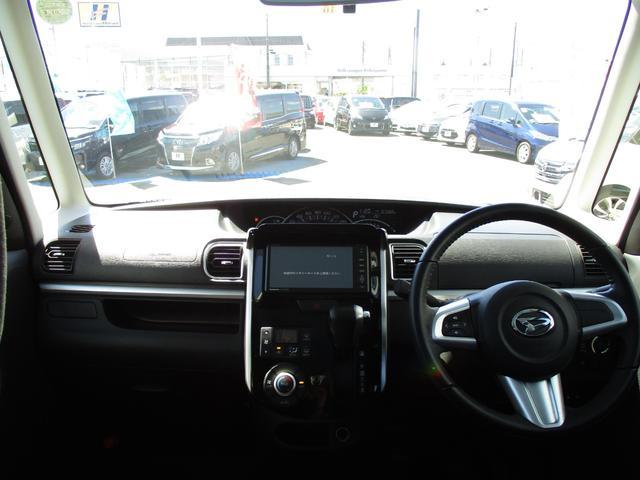 カスタムRS ワンオーナー車 社外SDナビ HID 両側パワースライドドア 純正15AW ETC(3枚目)