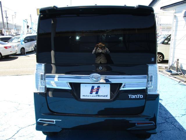 カスタムRS ワンオーナー車 社外SDナビ HID 両側パワースライドドア 純正15AW ETC(18枚目)