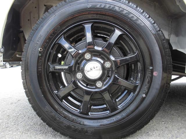 新品国産タイヤ装着済みでお得!新品社外アルミ!