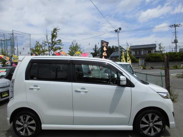 T4WDターボ社外ナビフルセグTV新品タイヤHIDキーフリー(5枚目)
