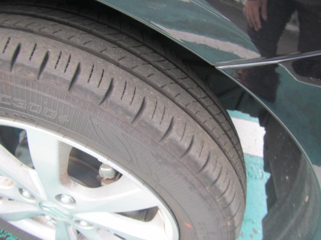 タイヤ溝ばっちりです!