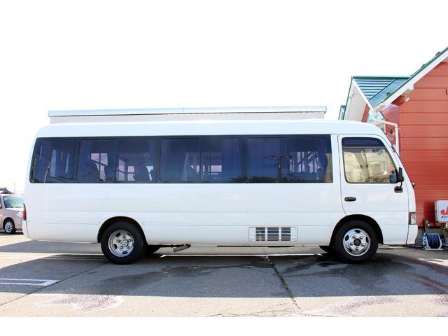 トヨタ コースター 25人乗り 自動ドア リクライニングシート リア観音開き