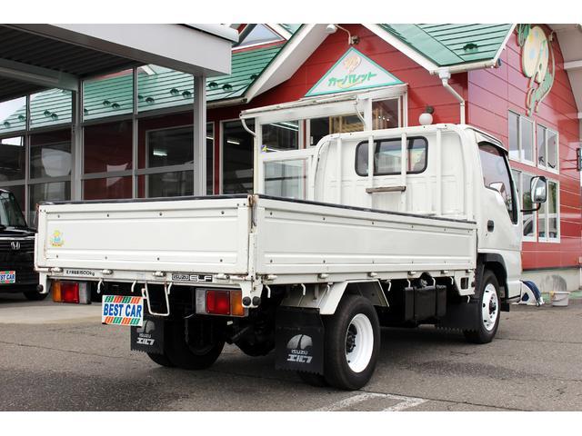 いすゞ エルフトラック ロングフラットロー 1.5t積み