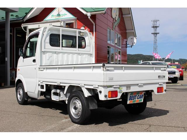 スズキ キャリイトラック KCパワステ農繁仕様 4WD デフロック 作業灯