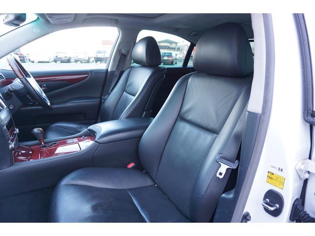 レクサス LS LS460Iパッケージ 黒革サンルーフ HDDナビ