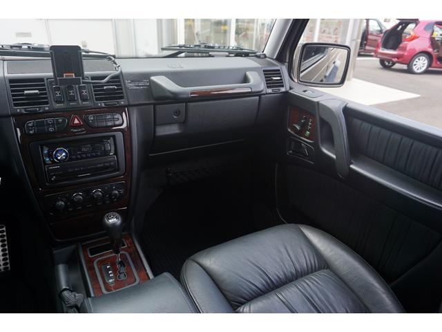 メルセデス・ベンツ M・ベンツ G500L 後期仕様 BRABUS22AW 正規ヤナセ販売車