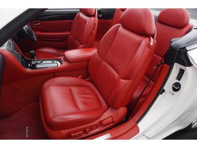 レクサス SC SC430 赤本革シートヒーター付 マークレビンソン HID