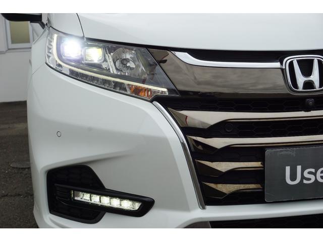 アブソルート・EXホンダセンシング ナビTV全周囲カメラ Bluetooth レーダークルーズ レーンキープ LEDオートライト 禁煙車 パーキングセンサー ハーフレザーPWシートヒーター付 両側PWスライド スマートキー ETC(38枚目)