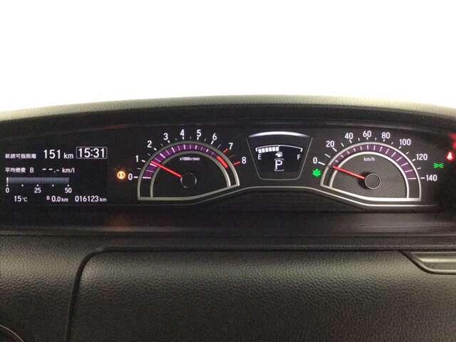 G・Lターボホンダセンシング キーフリー ESC LEDヘッド ターボ車 バックカメ メモリナビ 地デジ ナビTV クルコン ETC スマートキー アルミ ベンチシート アイドリングストップ 盗難防止装置 DVD ABS CD(10枚目)