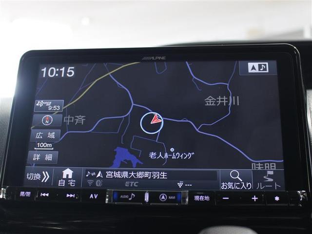 X 4WD フルセグ メモリーナビ DVD再生 後席モニター バックカメラ ETC 両側電動スライド LEDヘッドランプ ウオークスルー 乗車定員8人 3列シート ワンオーナー アイドリングストップ(16枚目)
