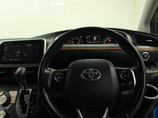 G 4WD フルセグ メモリーナビ DVD再生 後席モニター バックカメラ 衝突被害軽減システム ETC 両側電動スライド LEDヘッドランプ ウオークスルー 乗車定員6人 3列シート ワンオーナー(9枚目)