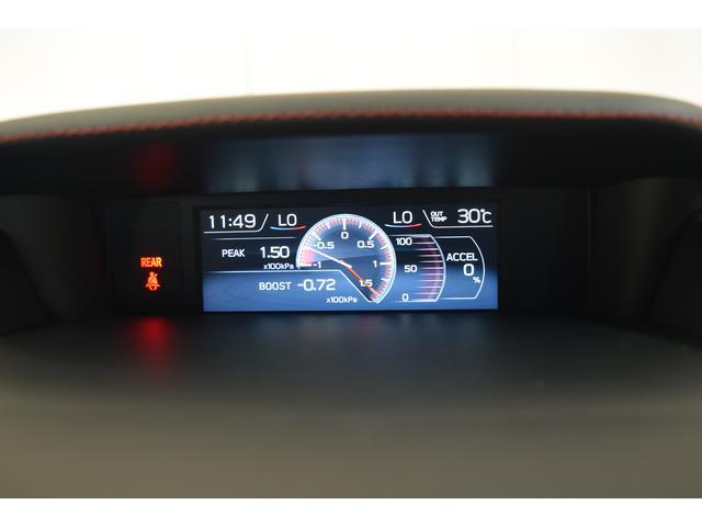 マルチファンクションディスプレイには、ブースト計も表示できます