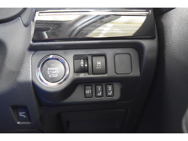 シートメモリー機能付で、2人分のシートポジション・サイドミラーの角度を記憶します