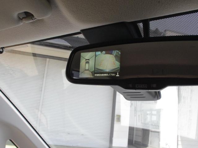 上からまるみえ:アラウンドビューモニター、駐車場でも安心です。