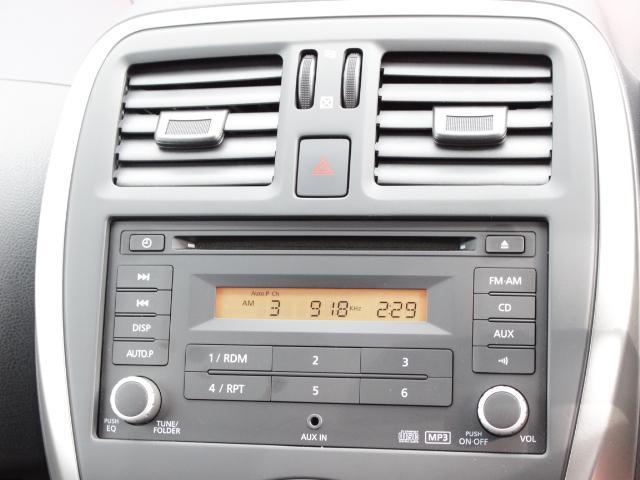 FM・AM・CD対応の純正オーディオです。