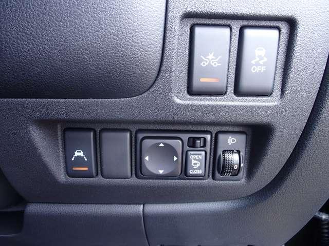 ★色々な装備のスイッチ類がここにあります!