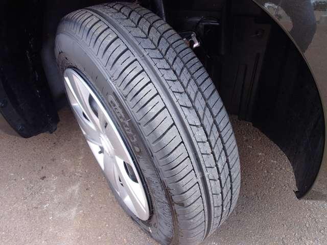 タイヤ溝もバッチリ