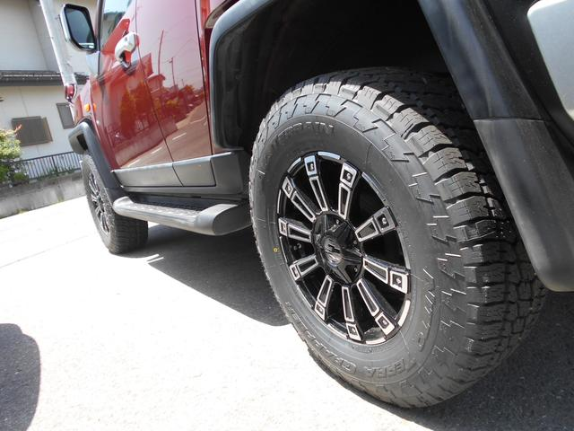 トヨタ FJクルーザー カラーパッケージ ワンオーナー 社外アルミ・新品タイヤ