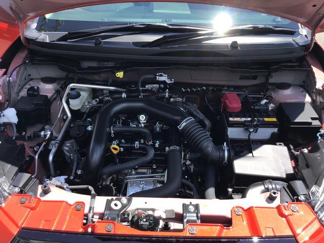 G 4WD 1000ccターボ 5人乗り 純正メモリーナビ パノラマモニター コーナーセンサー 17インチアルミホイール 6エアバック シートヒーター アダプティブクルーズコントロール キーフリー(17枚目)