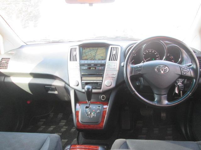 トヨタ ハリアー 240G HDDナビ バックカメラ 禁煙車 スタットレス