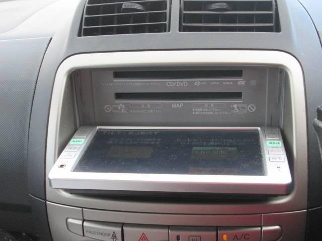 トヨタ パッソ X CD MD キーレス ABS 純正DVDナビ ワンセグ