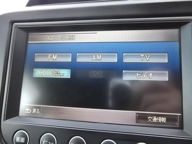 ホンダ フィット RS 純正HDDインターナビ ワンセグTV ETC