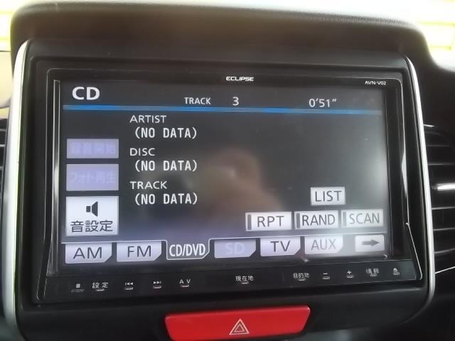 ホンダ N BOXカスタム G・ターボパッケージ 社外SDナビ フルセグTV ETC
