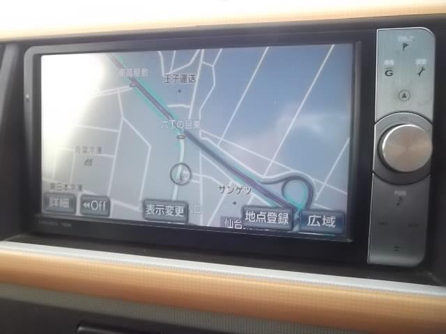 プラスハナ 純正HDDナビ フルセグTV ワンオーナー(4枚目)