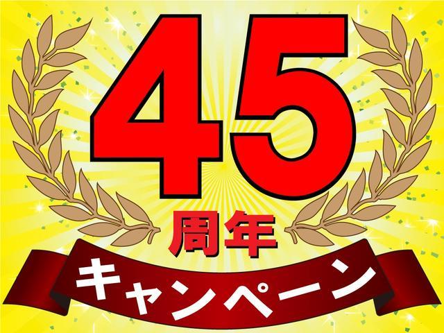 45周年記念キャンペーン実施中!