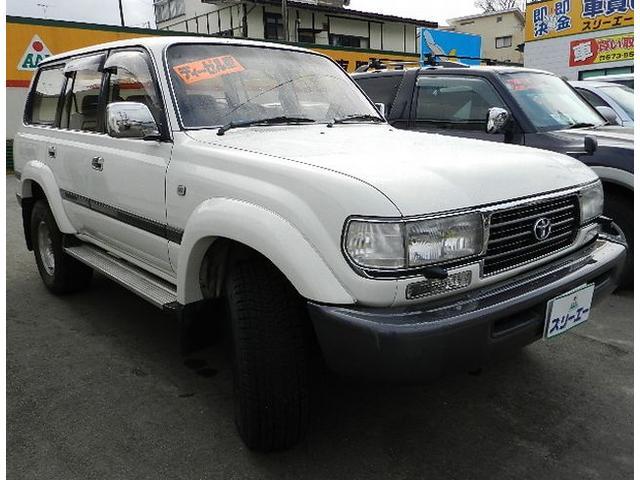 トヨタ ランドクルーザー80 バン VX 4WDディーゼルターボ