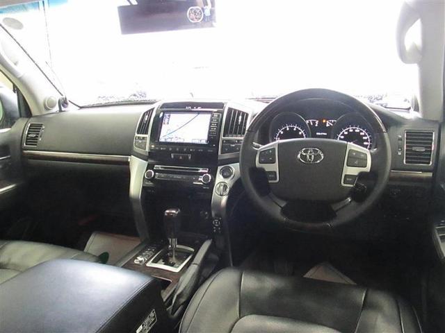 トヨタ ランドクルーザー ZX 4WD バックモニター ナビ 地デジ ETC DVD