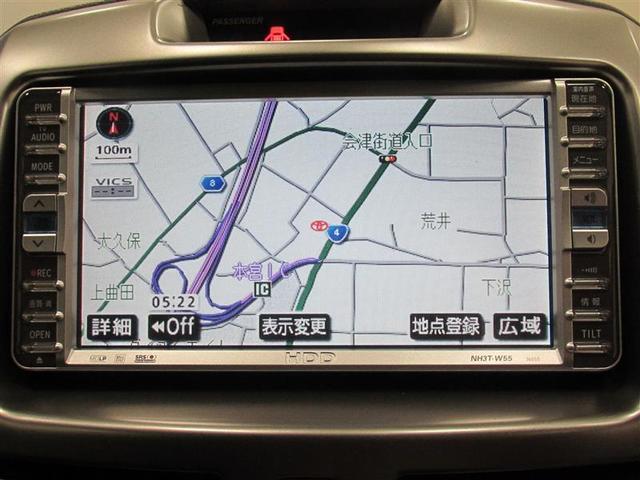 トヨタ ラッシュ G 4WD HDDナビ DVD CD スマートキー