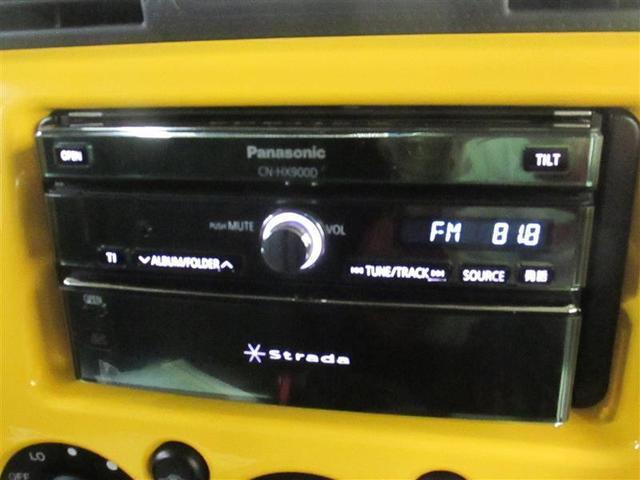 トヨタ FJクルーザー カラーパッケージ 4WD HDDナビ DVD ETC CD
