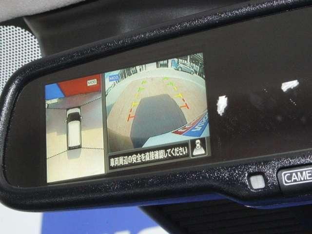 ディスプレイ付自動防眩式ルームミラー(アラウンドビューモニター画像が映ります★