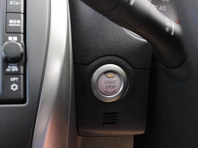 プッシュ式エンジンスターター ボタンを押すとエンジンの始動停止が行えます。 便利なインテリキー(盗難防止エンジンイモビライザー)