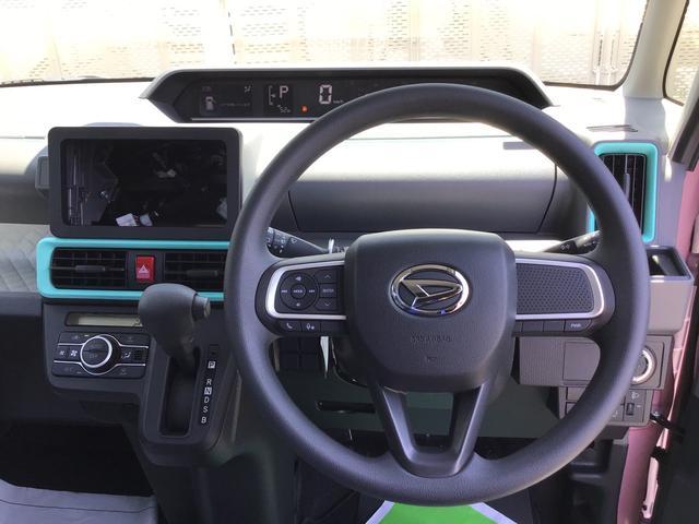 Xスペシャル 届出済未使用車 スマートアシスト コーナーセンサー 両側スライドドア キーフリー オートエアコン オートライト 撥水加工ベンチ式シート SRSサイドエアバック カーテンシールドエアバック(6枚目)