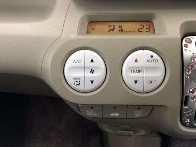 エアコンスイッチパネルの画像です
