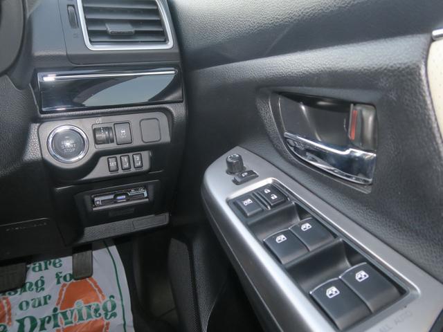 4WDターボ 2.0GTアイサイト 地デジナビ SIドライブ 本革シート パドルシフト付革巻ハンドル 18AW LED スマートキー パワーシート シートヒーター ミュージックサーバー DVD クルコン 横滑り防止 Bカメラ ETC エンスタ 1オーナー 禁煙車(58枚目)